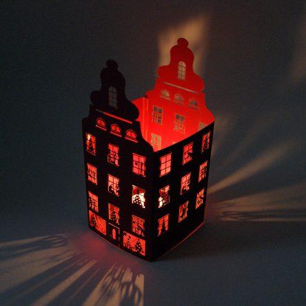 Kartka z lampionem FS617bg